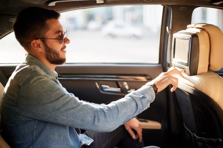 in-car passenger