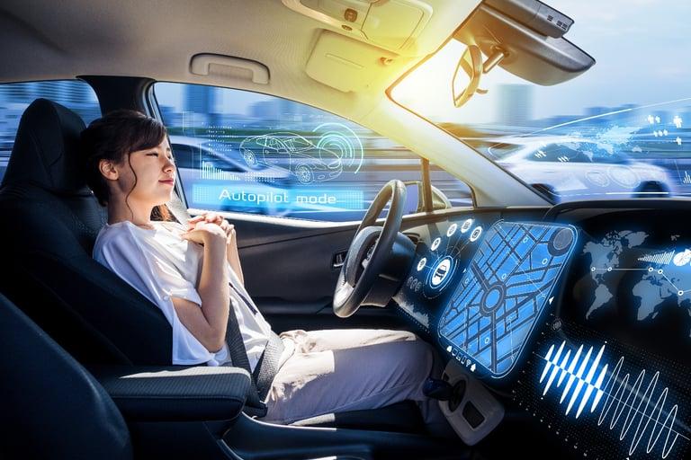 agent in semi-autonomous car